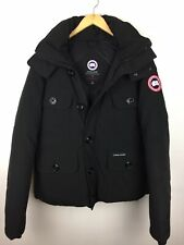 Canada Goose SELKIRK 3801M Men's Black Down Parka Jacket Coat Large L £750