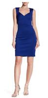 Women's Eliza J Sleeveless Crisscross Dress Royal Blue Size 2