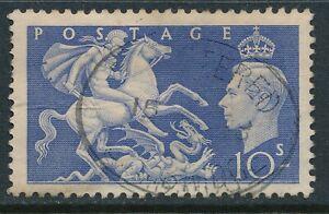 GB 1951 ULTRAMARINE 10/- USED  SG511 our ref B9