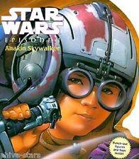 Star Wars Episode 1 Phantom Menace Anakin Skywalker Novelty Shape Book