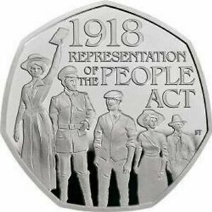 Representation of the PEOPLE ACT 50p Coin Fifty Pence coin