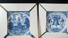 2 Avon Bicentennial New in Box Wedgwood Liberty Bell & Independence Hall