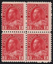 Canada 2c KGV Admiral Hairlines, Scott 106ix, F MNH, catalogue - $200