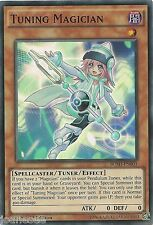Tuning Magician BOSH-EN001 Super Rare Yu-Gi-Oh Card Mint 1st Edition New