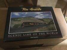 Rio Grande Scenic Line of the World by Dale Sanders - D&RGW Railroad book