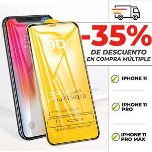 Protector Pantalla Iphone 11 - 11 Pro - 11 Pro Max - Cristal Templado 9D
