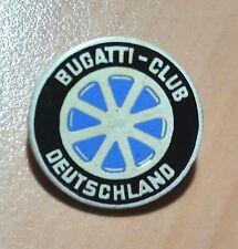 Bugatti Brosche emailliert Bugatti Club Deutschland 19mm