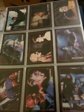 Hellraiser (first 3 movies) trading cards 1992, complete set, near mint in pages