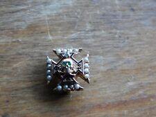 Antique 10k Gold Phi Kappa Sigma Fraternity Pin Badge w/Gems