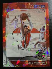 2019-20 NBA Hoops Hassan Whiteside Cracked Red Ice PRIZM #196 Trail Blazers