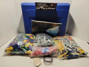 Vintage K'NEX Giant Set 60020 Set with Instructions and Plastic Blue Box 1993