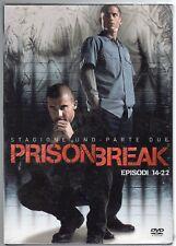dvd Cofanetto PRISON BREAK Stagione 1 uno Parte 2 due Episodi dal 14 al 22