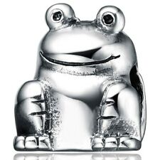 New Authentic 925 Sterling Silver Ss Frog Charm Lh530