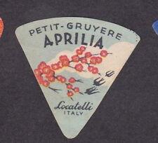 Ancienne petite étiquette fromage Italie  BN18390 Fleurs Hirondelle
