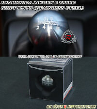 Mu-gen Style Round Shift Knob (6-Speed Manual) Fits Honda Acura
