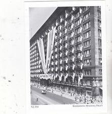 "*Postcard-""V.J. Day""+-US Flags Celebration+-*Remember Marshall Field's (A60-2)"