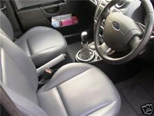 Si adatta Ford Fiesta MK6 MK7 Fusion Grigio Set of Leather Ghette