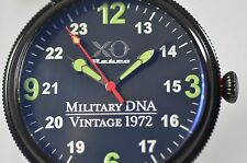 New XO Retro Men's F4 Phantom 1972 Vietnam Military DNA Quartz Leather Watch