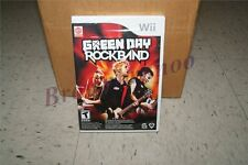 Green Day Rock Band Genuine Game Nintendo Wii NEW SEALED