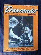 CRESCENDO JAZZ MAGAZINE - CHICK COREA - MARCH 1982