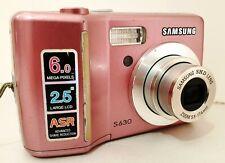 SAMSUNG S630 LCD Screen 6.0MP DIGITAL Photo Video CAMERA 3x Optical zoom