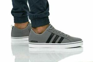 Adidas Mens Gents VS PACE Gray Trainers