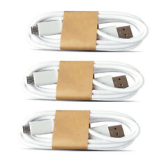 3xV8 Lightning Charging Cable Wire Charger for Android Samsung Galaxy/Xiaomi/HTC