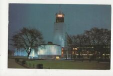 Civic Centre At Night Newcastle Upon Tyne 1971 Postcard 481a