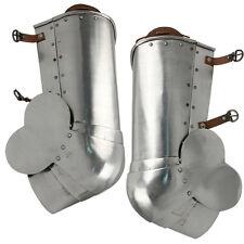 Medieval Renaissance Italian 15th Century Poleyns Leg Plate Protection Armors