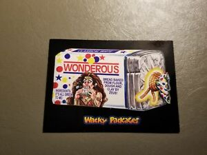 Wonderous Clay Bread Red Ludlow 25/25 2018 Topps Wacky Packages Go to the Movies