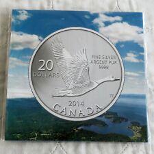 CANADA 2014 SPECIMEN CANADIAN GOOSE .9999 FINE SILVER $20 - sealed rcm pack