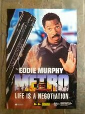 METRO EDDIE MURPHY   1  SHEET MOVIE POSTER