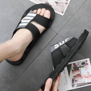 Men & Women Athletic Slides Beach Sandals Outdoor Indoor Casual Summer Slippers