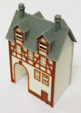 Outland Models Train Railway Layout Half Timbered House (with Passage) N Gauge
