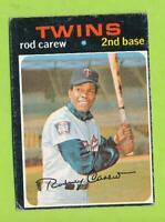 1971 Topps - Rod Carew (#210)   Minnesota Twins  SO