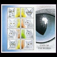 Dominica, Sc #2189, MNH, 2000, S/S, Cats, animals, A250TDD