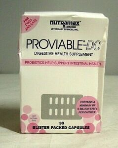 Proviable-DC Probiotic Digestive Health Supplement for Pets 30 ct.