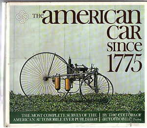 American Car Since 1775 up to c.1971 Cars + Coachbuilders + Trucks + Canadian