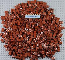 Lego - 1x2 Brick Logs Reddish Brown Castle Palisade Fort Blocks #30136 Lot Bulk