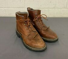 Ariat Women's Heritage Lacer 31080 Brown Leather Boots US 8.5 EU 39.5 EXCELLENT