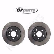 For VW EuroVan Pair Set of Rear Left&Right Disc Brake Rotors OPparts 7D0615601C
