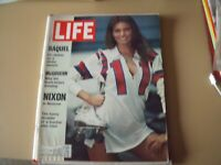 LIFE MAGAZINE June 2, 1972 Raquel Welch Cover