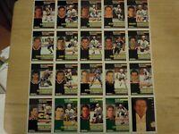 1991-92 Pinnacle French EDMONTON OILERS Team Set - 20 Hockey Cards - 3 Rookies