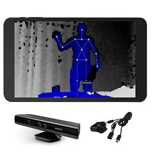 xBox 360 Kinect Sensor Kit - Tablet & Kinect Sensor & Cables Paranormal Eqipment