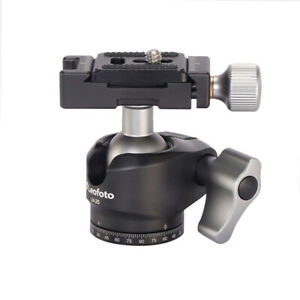 Second hand Leofoto LH-25 Low Profile Ball Head with Quick Release Plate