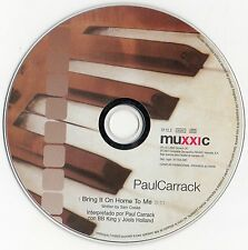"PAUL CARRACK / GENESIS ""BRING IT ON HOME TO ME"" RARE SPANISH PROMO CD SINGLE"