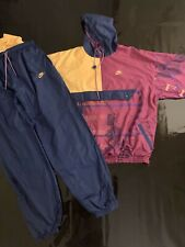 nike air trainingsanzug Windbreaker Size XL Retro Vintage Nike Air Track Suit