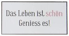 """Ib Laursen Magnet-Schild """"Das Leben ist schön"""" Kühlschrankmagnet"""