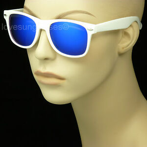 Sunglasses men women retro vintage style glasses frame color new 80s 1980s