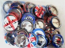 "WHOLESALE  JOB LOT 50  MODS   1"" BADGES , THE WHO, VESPA, LAMBRETTA, JAM,SCOOTER"